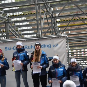 Siegerehrung S15: Sieg für Sophie Patz