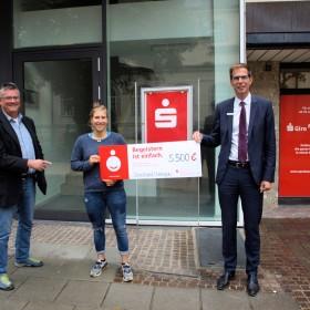 v.l.n.r.: Bernhard Kübler, Nicki Hronek und Alexander Gehring